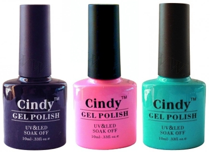Цветные гель-лаки CINDY