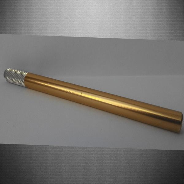 Ручка для микроблейдинга золотая