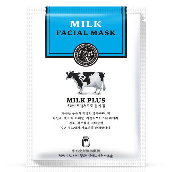 Молочная тканевая маска