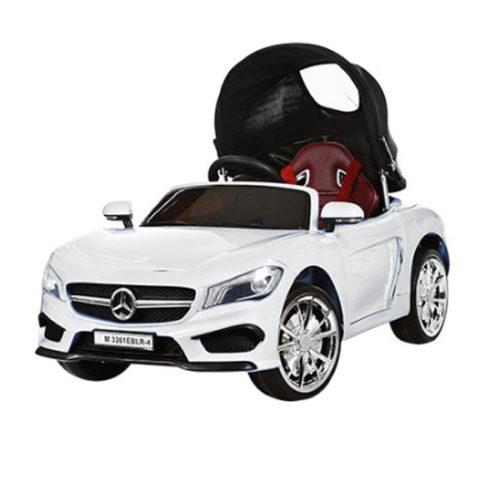 Детский электромобиль Mercedes Benz с крышей