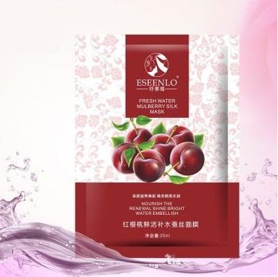 Маска для лица с плодами вишни