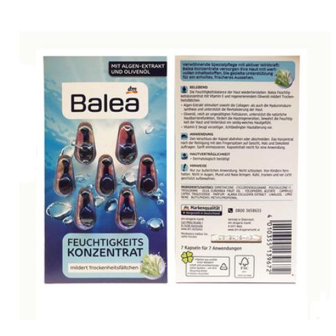 Увлажняющие капсулы для лица BALEA
